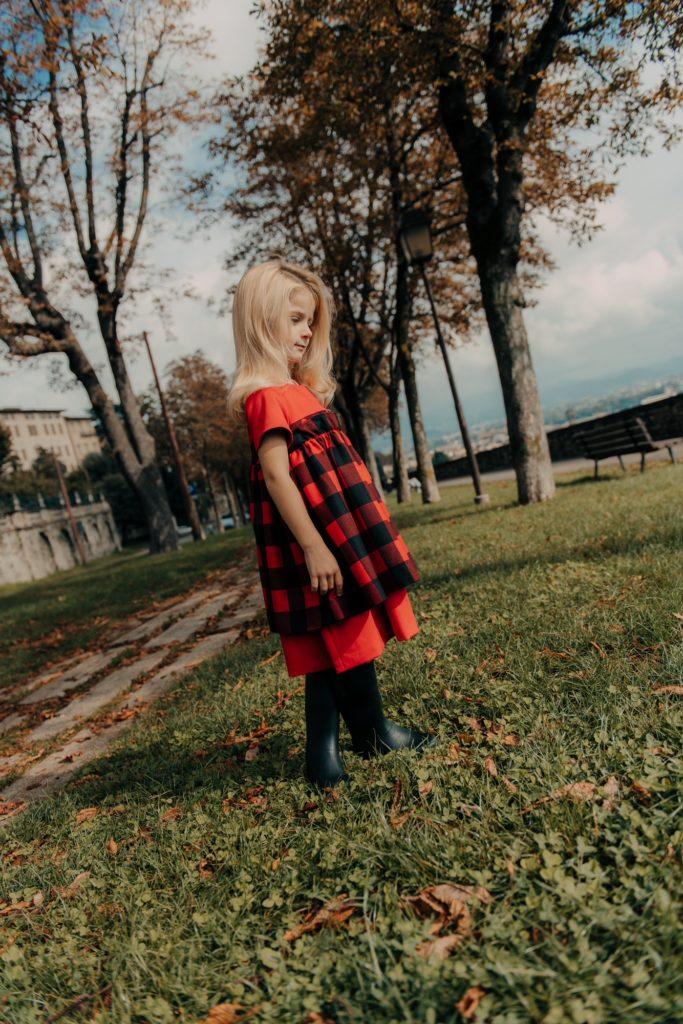 abito invernale in lana Simonetta